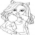 La belle Clawdeen Wolf