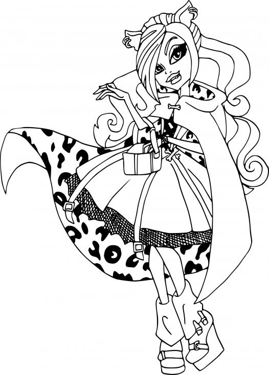 Draculaura à la mode
