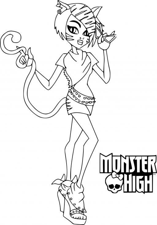 Toralei Stripe Monster High