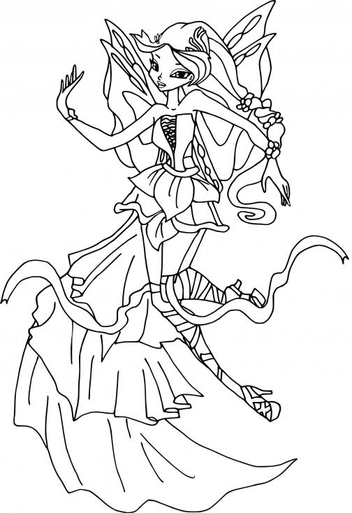 Flora Winx Harmonix
