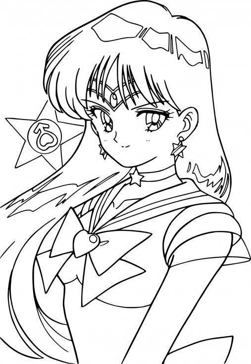 Sailor Mars la guerrière