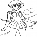 Sailor Mercury princesse