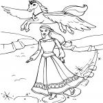 Barbie et une licorne