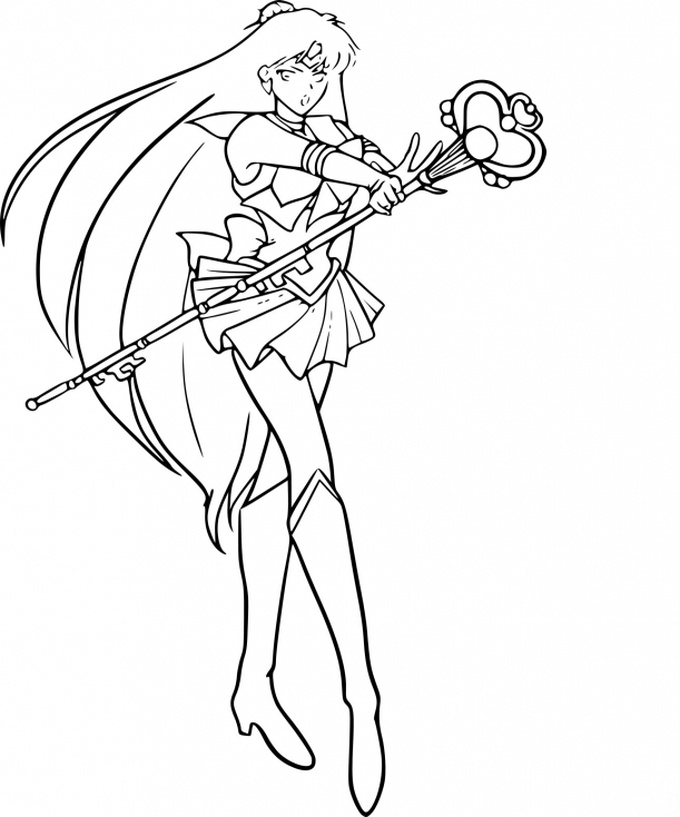 Sailor Pluto guerrière