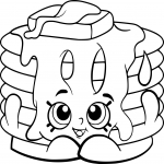 Shopkins Pancake