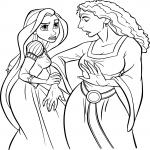 Raiponce et la sorcière