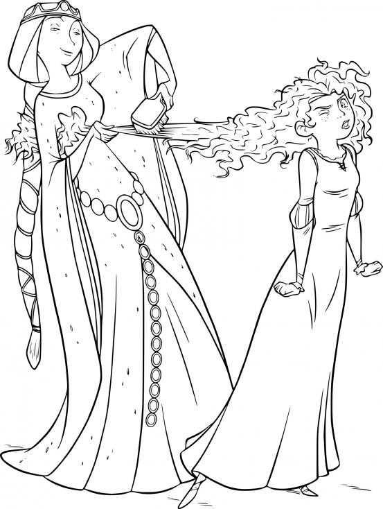 Merida et la reine Elinor