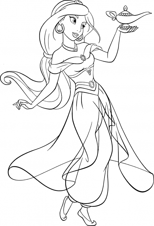 Jasmine en robe