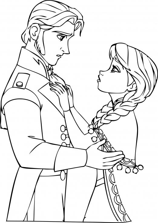 Prince Hans et Anna