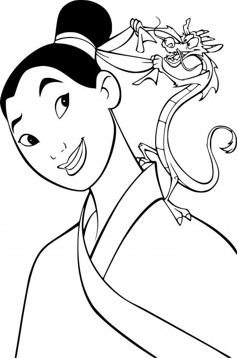 Mulan et Mushu