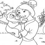 Mulan et un panda