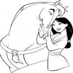 Mulan et son cheval