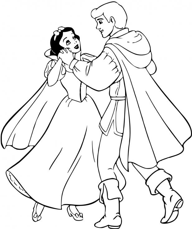 Blanche Neige et le prince
