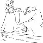 Blanche Neige et la sorcière