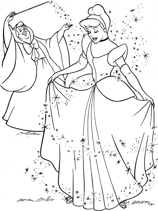 La fée et Cendrillon